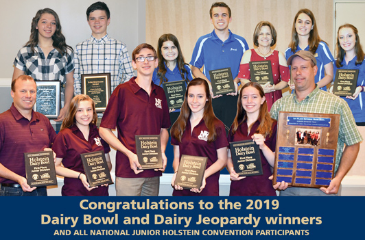 Congratulations to the 2019 Dairy Bowl and Dairy Jeopardy winners